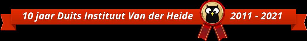 10 jaar Duits Instituut Van der Heide